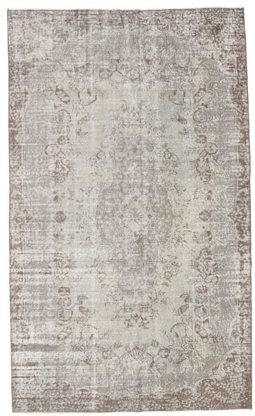 Colored Vintage Rug 170X282 Authentic  Modern Handknotted Light Grey (Wool, Turkey)