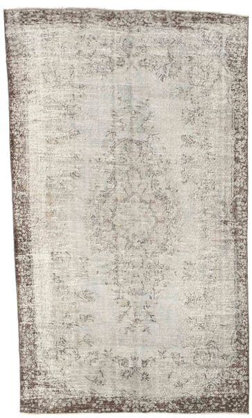 Colored Vintage Rug 177X296 Authentic  Modern Handknotted Light Grey/Light Brown (Wool, Turkey)