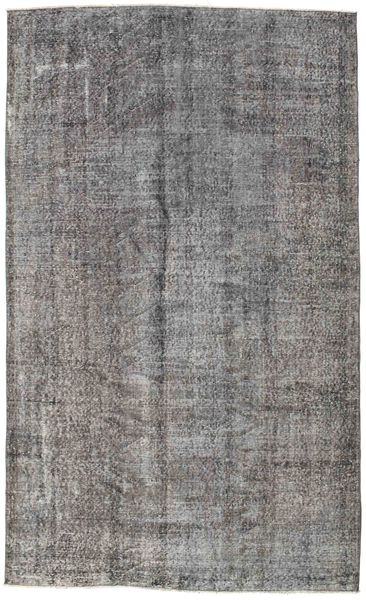 Colored Vintage Rug 160X271 Authentic  Modern Handknotted Light Grey/Dark Grey (Wool, Turkey)