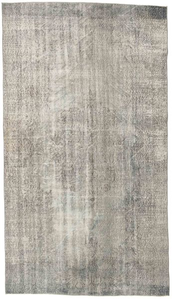 Colored Vintage Rug 170X302 Authentic  Modern Handknotted Light Grey (Wool, Turkey)