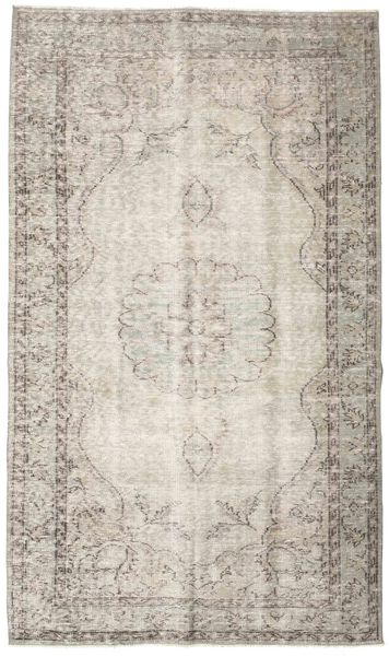 Colored Vintage Rug 147X250 Authentic  Modern Handknotted Light Grey/Light Brown (Wool, Turkey)