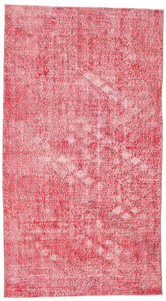 Colored Vintage Rug 152X278 Authentic  Modern Handknotted Light Pink/Pink (Wool, Turkey)