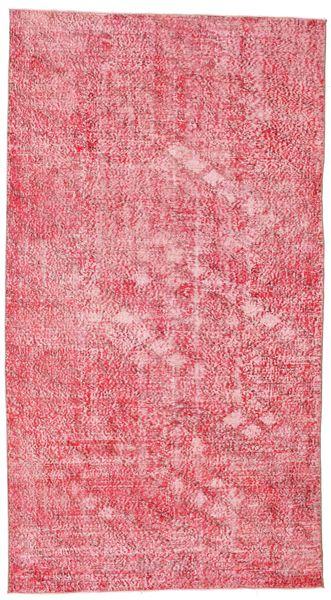 Colored Vintage Tapete 152X278 Moderno Feito A Mão Luz Rosa/Rosa (Lã, Turquia)