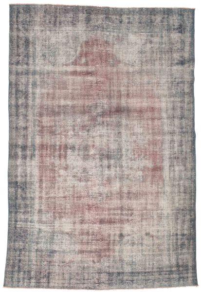 カラード ヴィンテージ 絨毯 188X287 モダン 手織り 薄い灰色/濃いグレー (ウール, トルコ)