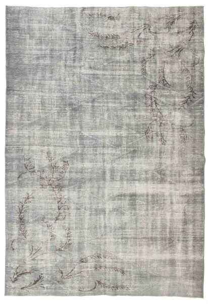 Colored Vintage Rug 180X257 Authentic  Modern Handknotted Light Grey (Wool, Turkey)