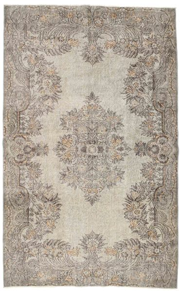 Colored Vintage Rug 172X279 Authentic  Modern Handknotted Light Brown/Light Grey (Wool, Turkey)