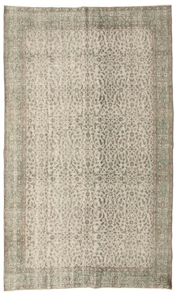 Colored Vintage Rug 163X272 Authentic  Modern Handknotted Light Grey/Light Brown (Wool, Turkey)