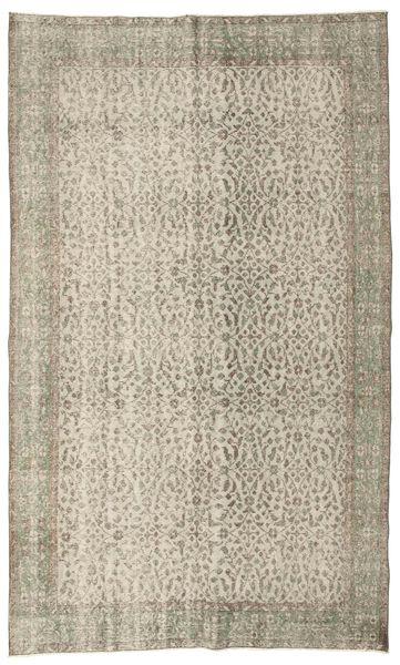Colored Vintage Teppich  163X272 Echter Moderner Handgeknüpfter Hellgrau/Hellbraun (Wolle, Türkei)