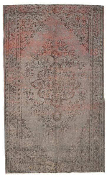 Colored Vintage Rug 170X285 Authentic  Modern Handknotted Light Grey/Brown (Wool, Turkey)