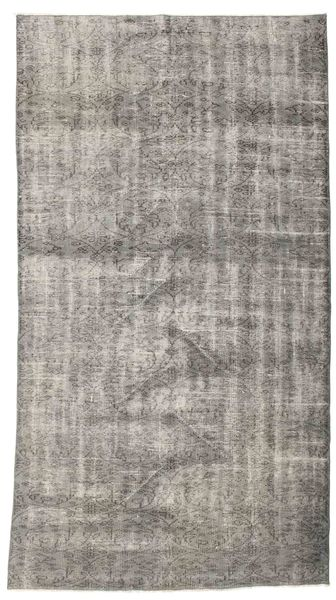 Colored Vintage Rug 143X253 Authentic  Modern Handknotted Light Grey/Dark Grey (Wool, Turkey)