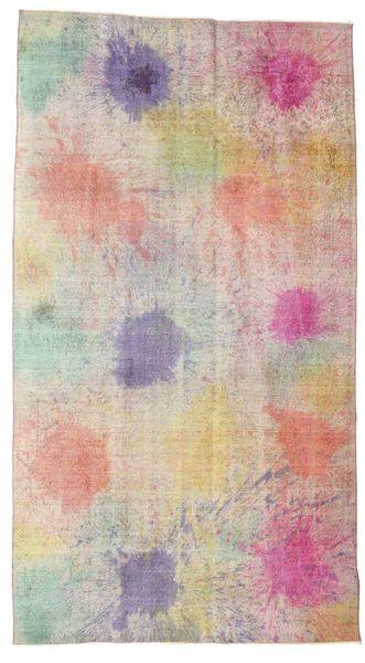 カラード ヴィンテージ 絨毯 167X303 モダン 手織り 薄茶色/薄い灰色 (ウール, トルコ)
