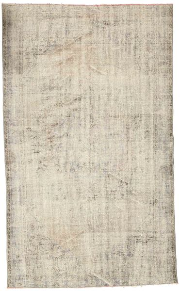 Colored Vintage Rug 166X280 Authentic  Modern Handknotted Light Brown/Beige (Wool, Turkey)