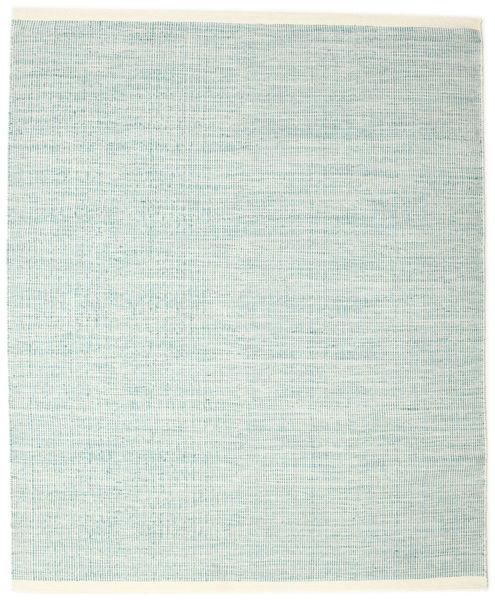 Seaby - Niebieski Dywan 200X250 Nowoczesny Tkany Ręcznie Turkusowy Niebieski/Biały/Creme/Jasnoszary (Wełna, Indie)