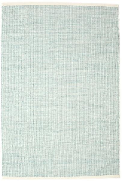 Seaby - Blå Teppe 200X300 Ekte Moderne Håndvevd Turkis Blå/Hvit/Creme (Ull, India)