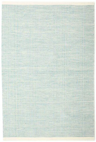Seaby - Sininen Matto 160X230 Moderni Käsinkudottu Siniturkoosi/Vaaleanharmaa (Villa, Intia)
