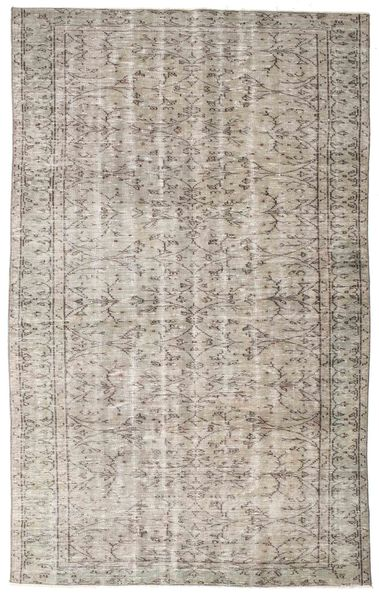 Colored Vintage Rug 160X257 Authentic  Modern Handknotted Light Grey (Wool, Turkey)