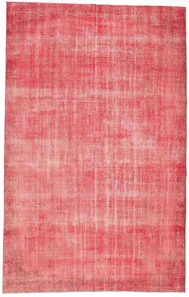 Colored Vintage Tapis 187X298 Moderne Fait Main Rose Clair/Rose (Laine, Turquie)