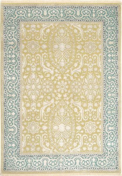 Tabriz Royal Magic Matto 166X237 Itämainen Käsinsolmittu Beige/Keltainen ( Intia)