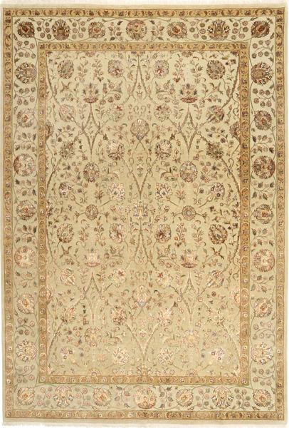 タブリーズ Royal Magic 絨毯 168X244 オリエンタル 手織り 薄茶色/暗めのベージュ色の ( インド)