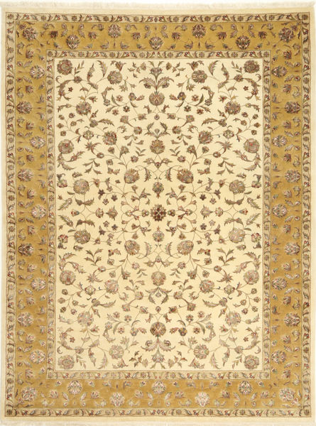 Tabriz Royal Magic Covor 174X235 Orientale Lucrat Manual Maro Deschis/Bej ( India