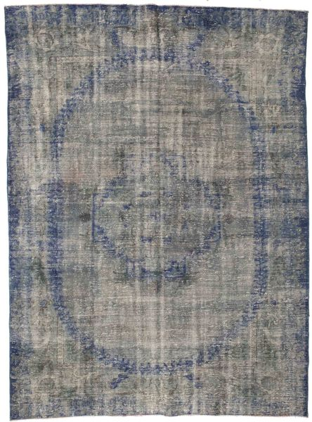 カラード ヴィンテージ 絨毯 208X283 モダン 手織り 濃いグレー/薄い灰色 (ウール, トルコ)