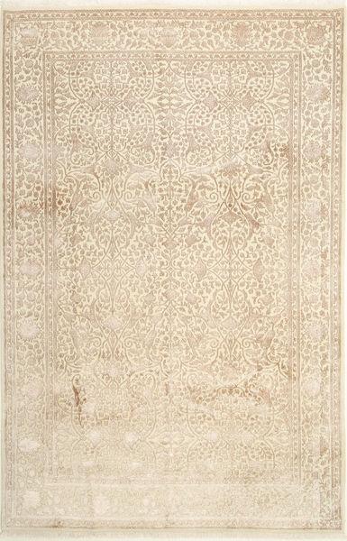 タブリーズ Royal Magic 絨毯 200X306 オリエンタル 手織り 薄茶色/ベージュ ( インド)