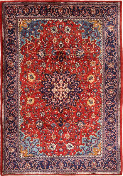 Mahal Dywan 225X332 Orientalny Tkany Ręcznie Rdzawy/Czerwony/Ciemnofioletowy/Ciemnoczerwony (Wełna, Persja/Iran)