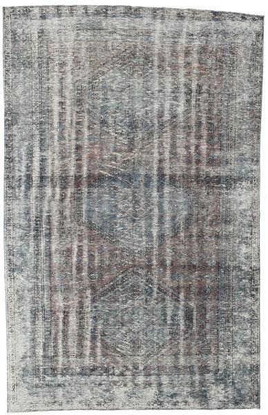 Colored Vintage Rug 175X272 Authentic  Modern Handknotted Dark Grey/Light Grey (Wool, Turkey)