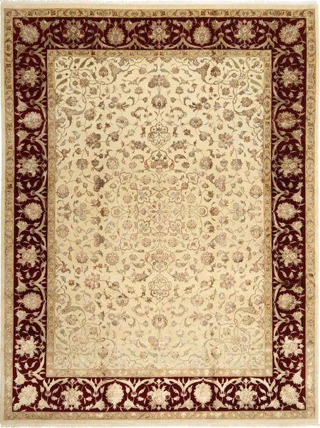 タブリーズ Royal Magic 絨毯 237X310 オリエンタル 手織り 薄茶色/暗めのベージュ色の ( インド)
