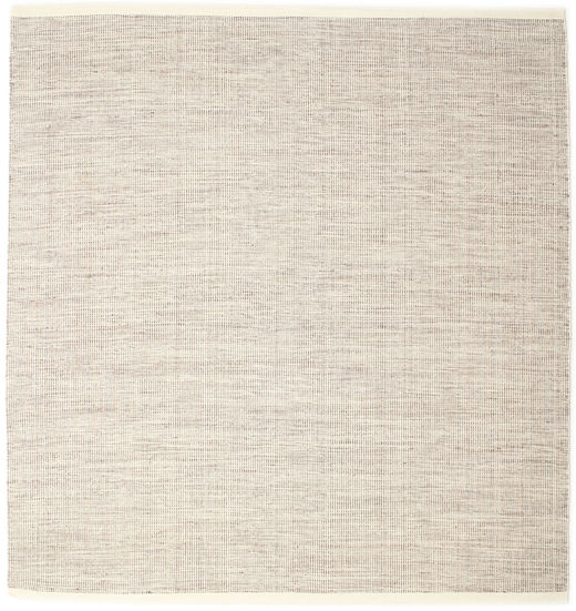 Seaby - Brown Rug 250X250 Authentic  Modern Handwoven Square Beige/Light Grey/Light Brown Large (Wool, India)