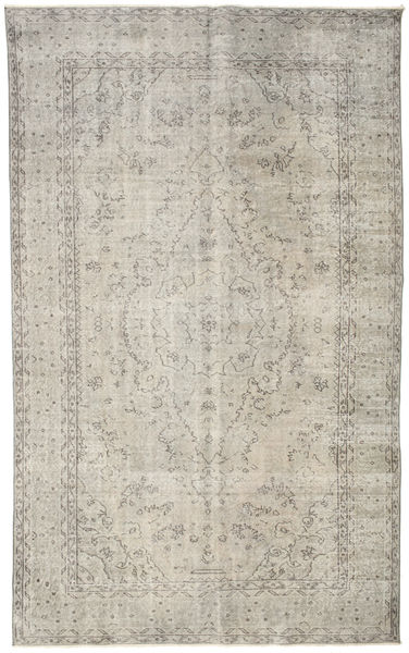 Colored Vintage Rug 182X297 Authentic  Modern Handknotted Light Grey (Wool, Turkey)