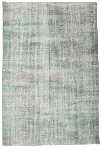 Colored Vintage Rug 182X273 Authentic  Modern Handknotted Light Grey (Wool, Turkey)