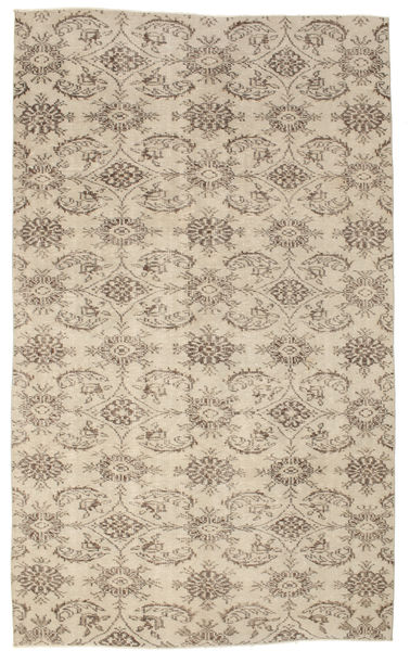 Colored Vintage Rug 175X292 Authentic  Modern Handknotted Light Grey/Beige (Wool, Turkey)
