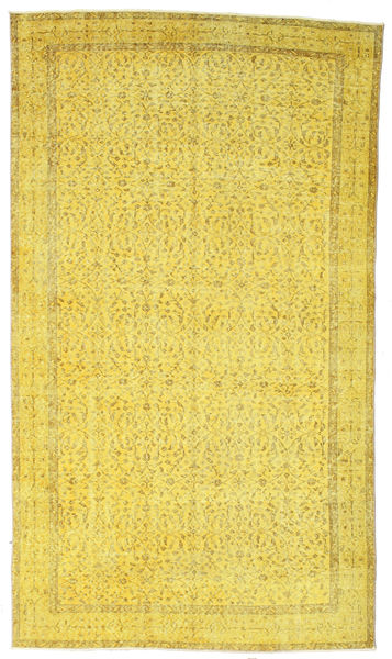 Colored Vintage Rug 160X282 Authentic  Modern Handknotted Yellow (Wool, Turkey)