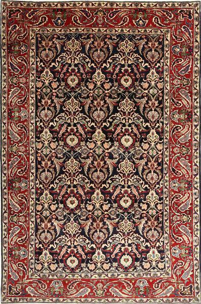 Bakhtiar Tapis 238X364 D'orient Fait Main Marron Foncé/Rouge Foncé (Laine, Perse/Iran)