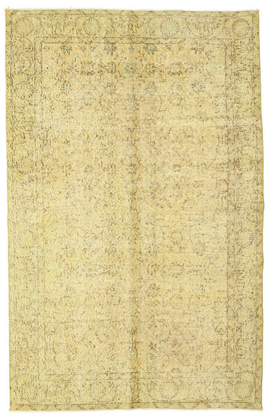 Colored Vintage Rug 163X256 Authentic  Modern Handknotted Yellow/Beige (Wool, Turkey)