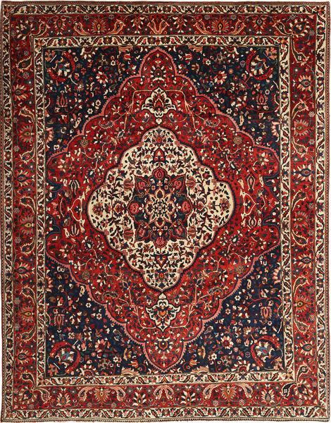 Bakhtiar Tapis 260X345 D'orient Fait Main Rouge Foncé/Marron Foncé Grand (Laine, Perse/Iran)