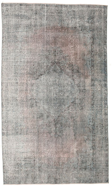 Colored Vintage Rug 169X285 Authentic  Modern Handknotted Light Grey/Dark Grey (Wool, Turkey)