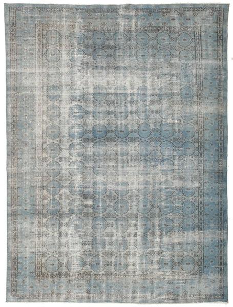 Colored Vintage Rug 195X257 Authentic  Modern Handknotted Light Grey/Dark Grey (Wool, Turkey)