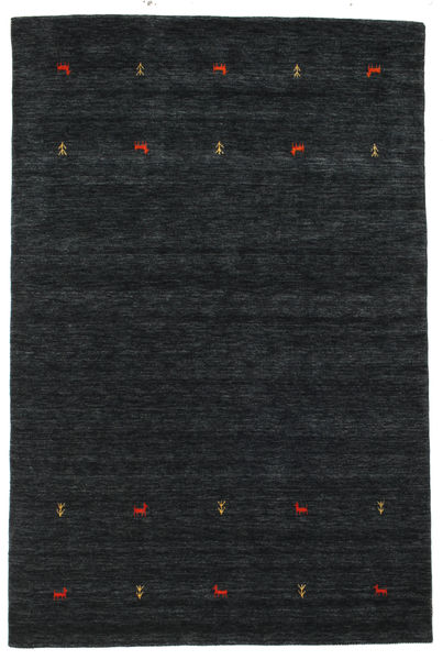 Gabbeh loom Two Lines - Svart / Grå teppe CVD16757
