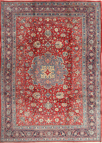 Mahal Rug 245X345 Authentic  Oriental Handknotted Dark Grey/Dark Red (Wool, Persia/Iran)