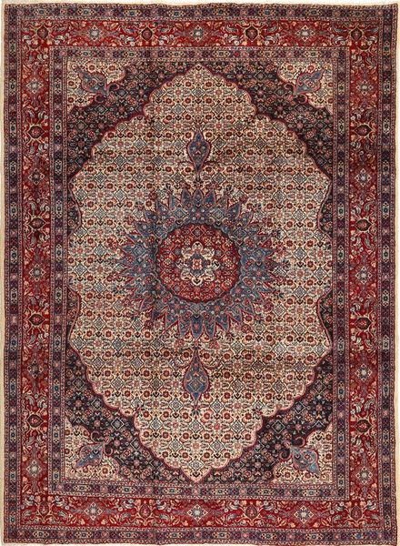 Moud Koberec 265X350 Orientální Ručně Tkaný Tmavě Červená/Hnědá Velký (Vlna, Persie/Írán)