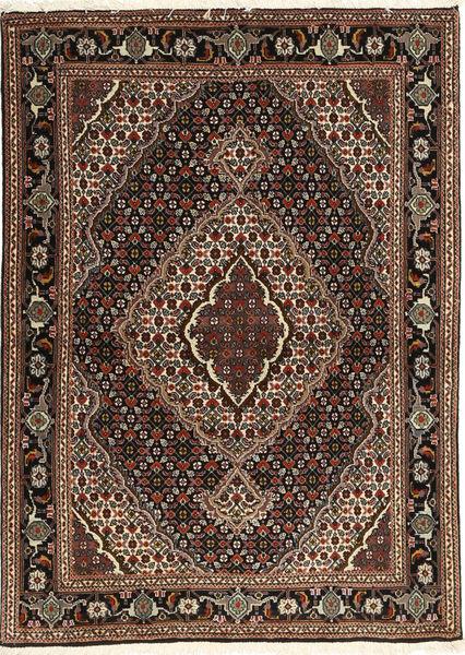 Tabriz 40 Raj Tapis 107X149 D'orient Fait Main Marron Foncé/Marron Clair (Laine/Soie, Perse/Iran)