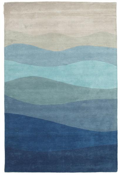 Feeling Handtufted - Blue carpet CVD6514