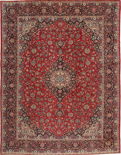 Keshan Matto 293X385 Itämainen Käsinsolmittu Ruskea/Tummanpunainen Isot (Villa, Persia/Iran)