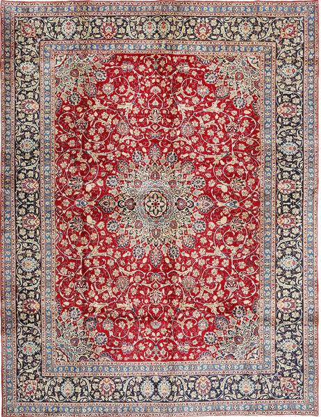 Keshan Matto 290X380 Itämainen Käsinsolmittu Neliö Punainen/Vaaleanpunainen Isot (Villa, Persia/Iran)