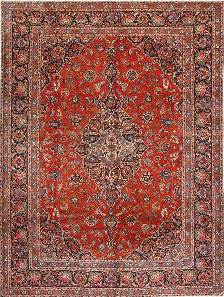 Keshan Matto 294X392 Itämainen Käsinsolmittu Tummanpunainen/Ruoste Isot (Villa, Persia/Iran)