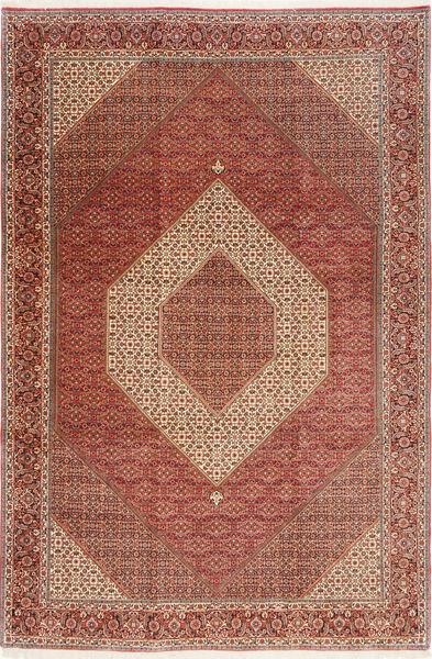 Bidjar Rug 255X380 Authentic  Oriental Handknotted Brown/Dark Red Large (Wool, Persia/Iran)