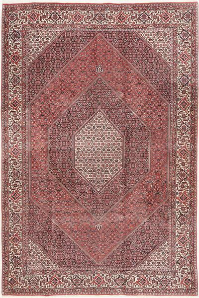 Bidjar Rug 200X298 Authentic  Oriental Handknotted Brown/Dark Red (Wool, Persia/Iran)
