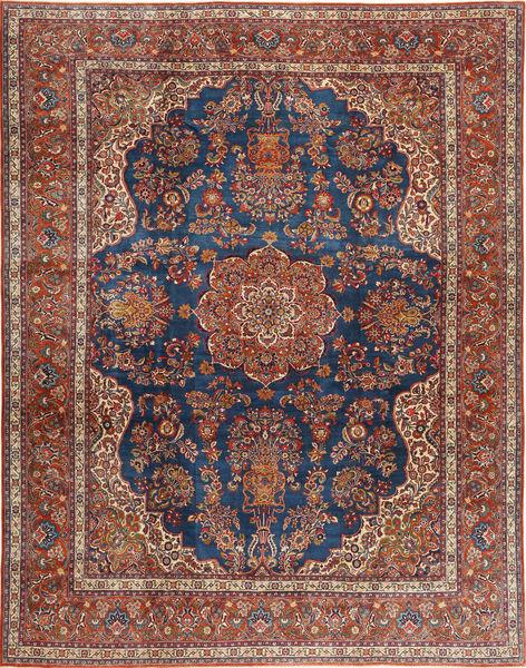 Hamedan Shahrbaf Matto 310X396 Itämainen Käsinsolmittu Tummanpunainen/Tummanvioletti Isot (Villa, Persia/Iran)